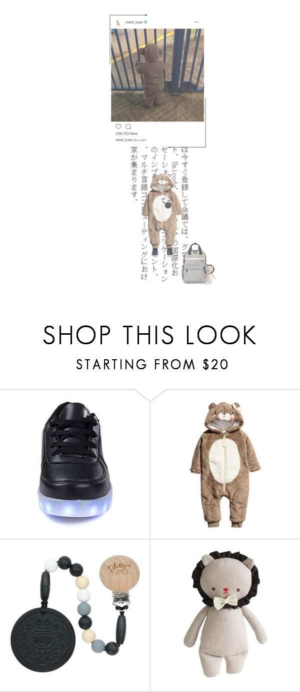 """— with got7 + instagram update"" by markskitten ❤ liked on Polyvore featuring Skip Hop, Alimrose and mark_tuanig"