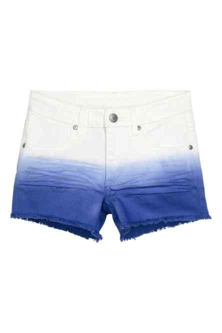 Short dip dye