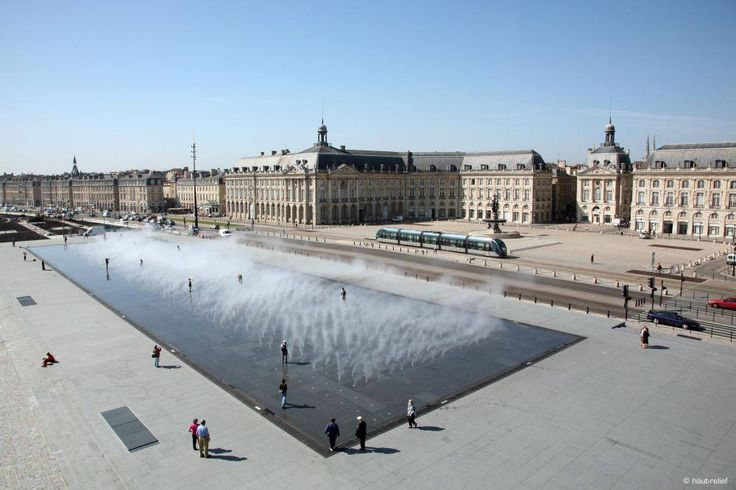 Water miroir seen by sky // #BDXLive #Bordeaux
