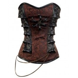 Steampunk corset from Corset story.