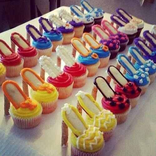 high heel cupcakes oooh la la recipe shoe cupcakes