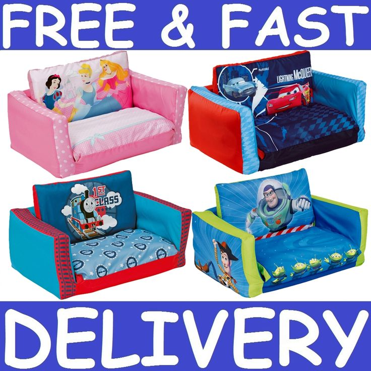 ChildrenS Flip Out Sofa Bed