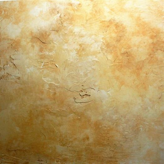 Faux Painting Ideas - Tarnished Wall Finish      Faux Finish Painting Effects - Tarnished Wall Finish over Skip Trowel Texture.