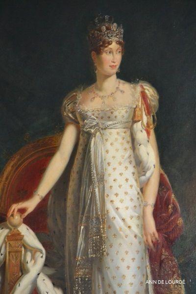 Marie-Louise of Austria  by François Gérard 1811 Spring 2016, Le Château de Fontainebleau, Fontainebleau, France.