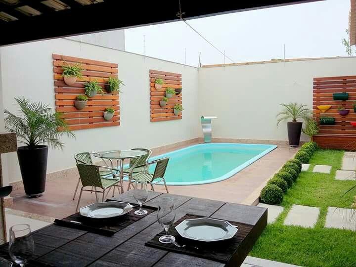 25 melhores ideias sobre piscinas pequenas no pinterest - Piscinas interiores pequenas ...