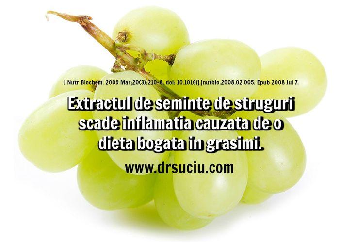 Photo Extractul de seminte de struguri reduce inflamatia  - drsuciu