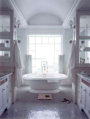 Love white bathrooms