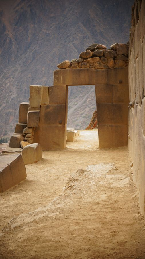 Ollantaytambo, Inca archaeological site, southern Peru.  Photo: Maria Andrea Patiño Garces, via 500px