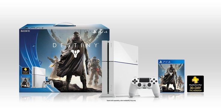 White Playstation 4 – New PS4 Destiny bundle #videogames #playstation4 #ps4 #gaming #games