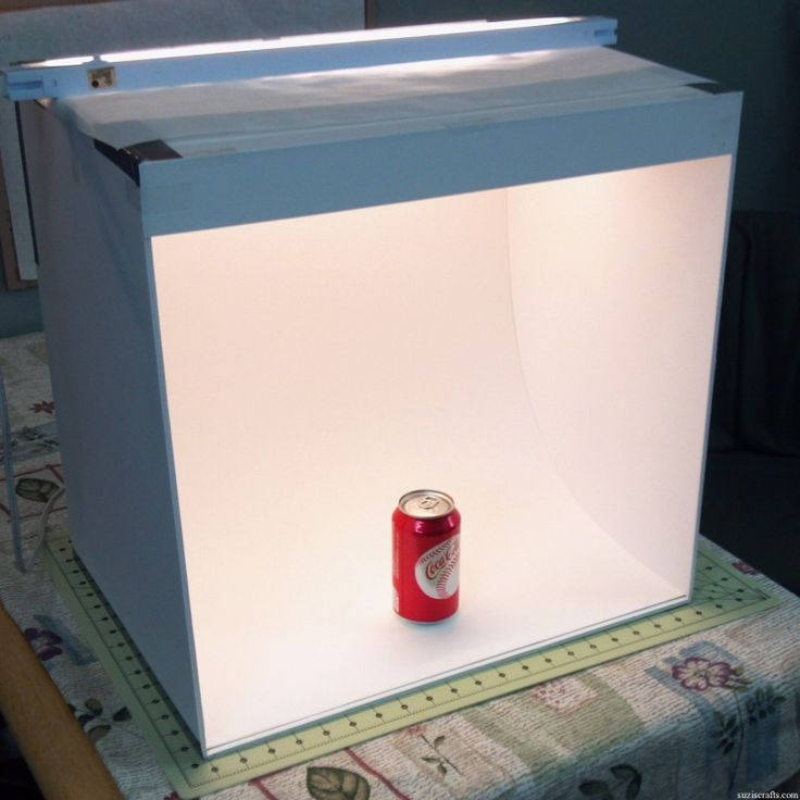 How to Make a Light Box for Photos