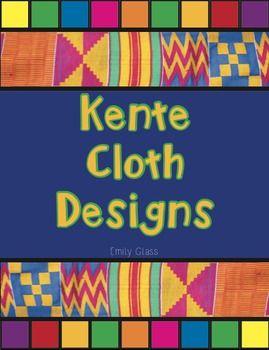 "Recently I did an ""Art Around the World"" Unit and fell in love with Kente Cloth from Ghana. My 3rd graders made Kente Cloth and we used this handout to create their pieces! There are 20 designs featured here and each design's meaning is included as well."