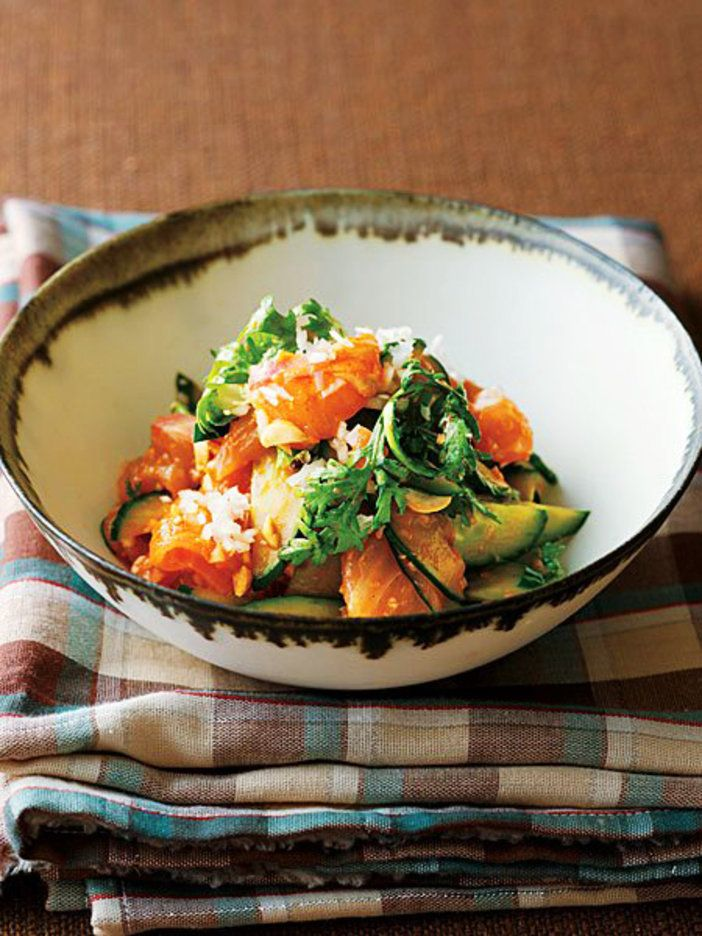 まるで「韓国風カルパッチョ」。お酒もごはんも進む、愛されレシピ|『ELLE a table』はおしゃれで簡単なレシピが満載!