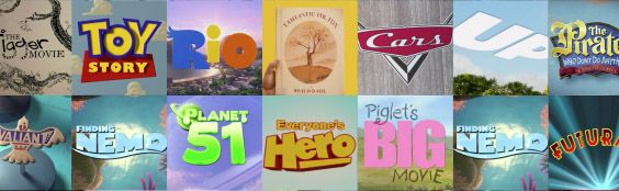 243 тииииитра с 1937 по 2012 год - Teeter-totter-tam animation