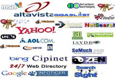 Submit Your Website to 1800+ search engines and directories to get more traffic. #seo