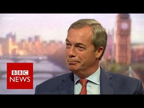 Nigel Farage: Voters 'beginning to put two fingers up' to PM - BBC News
