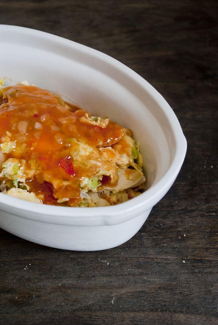 Foe yong hai zelf maken, met het recept dat ik van Kayotic Kitchen gebruikte ging het enorm makkelijk en was het resultaat echt heerlijk. Probeer het ook!