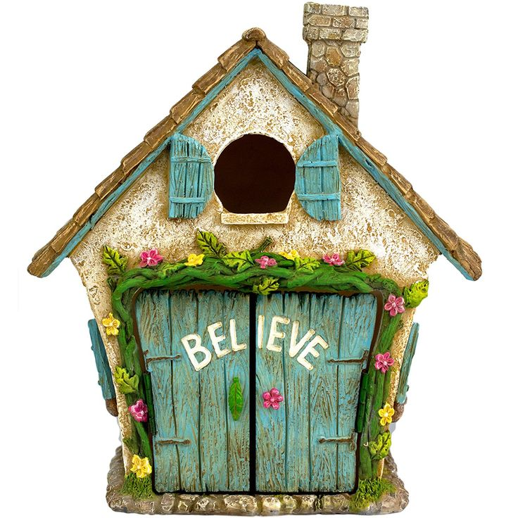 The Adorable Believe Fairy Garden House KittyKatKoutique  The Adorable Believe Fairy Garden House    The Adorable  Believe Fairy Garden House is one of the cutest Garden Fairy Houses available and it will make for a truly memorable and sweet gift.  http://kittykatkoutique.com/the-adorable-believe-fairy-garden-house/