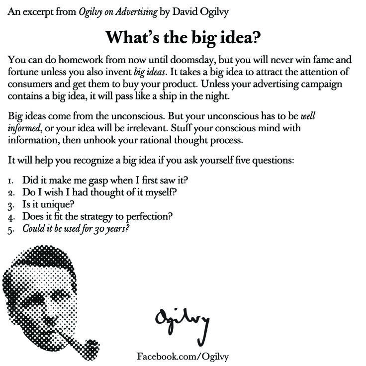 Best David OgilvyS Memos Letters And More Images On
