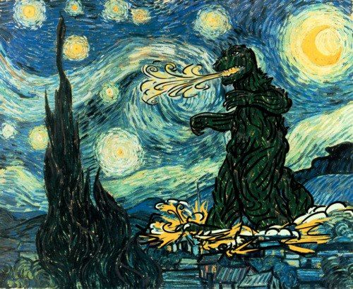 expressionism van goughs starry night Mass has translated the famous starry night into his style of painting i am  deeply inspired by van gogh, and i am proud of it his personality.