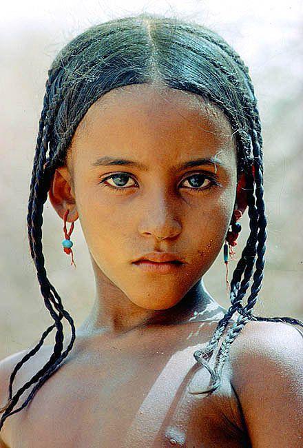 pinterest.com/fra411 #ethnic - Tuareg girl