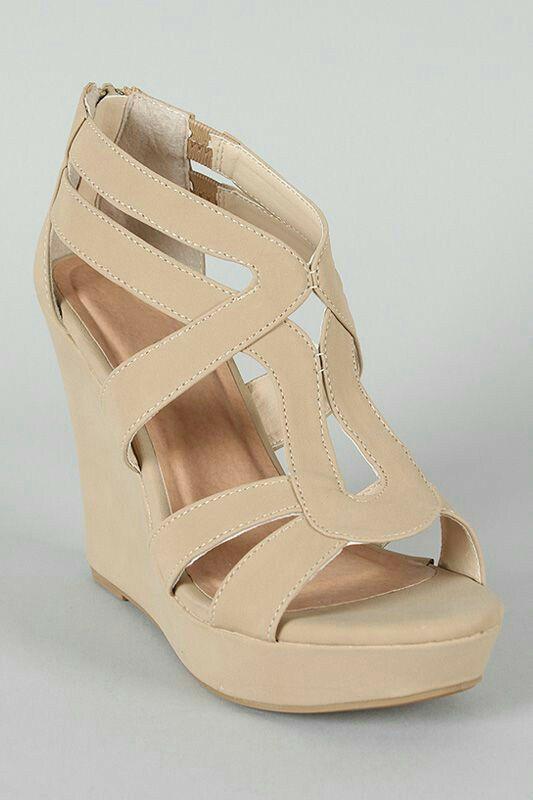 Classy wedge heels