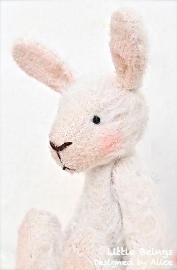 Lucky White Rabbit.