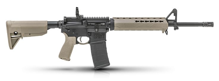 When it comes time to defend your legacy, turn to the SAINT™. It's the ultimate refinement of the time-tested AR15 design and represents everything that a defensive carbine should be. The quality of a rifle begins with its foundation. That's why the extra-tough Type III aircraft-grade 7075 T6 aluminum upper and lower receivers are joined …