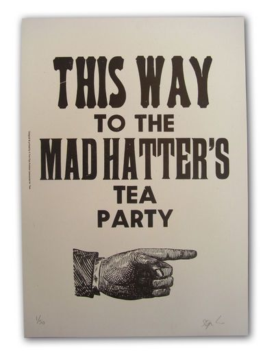 we're all a little mad here... :)
