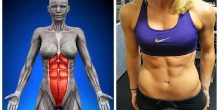 Este ejercicio es más eficaz que 1,000 Abdominales: Requiere 60 segundos al día y en 1 mes tu abdomen estará plano!