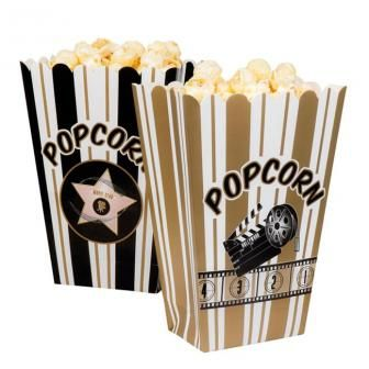 "Popcorn-Tüten ""Hollywood"" 4er Pack, 2.99€"