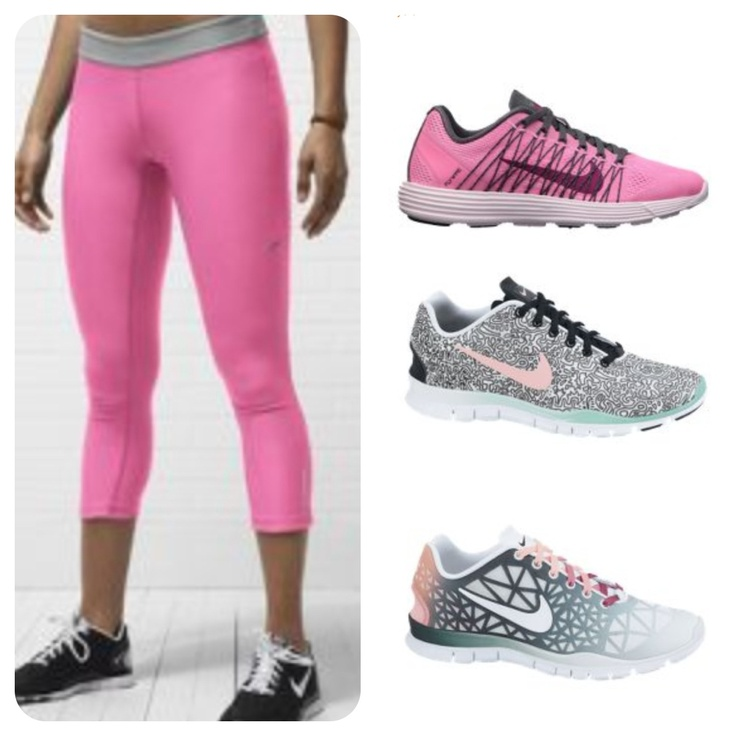 Nike training clothes and shoes http://www.lollostapel.se/nya-tights-och-skor/