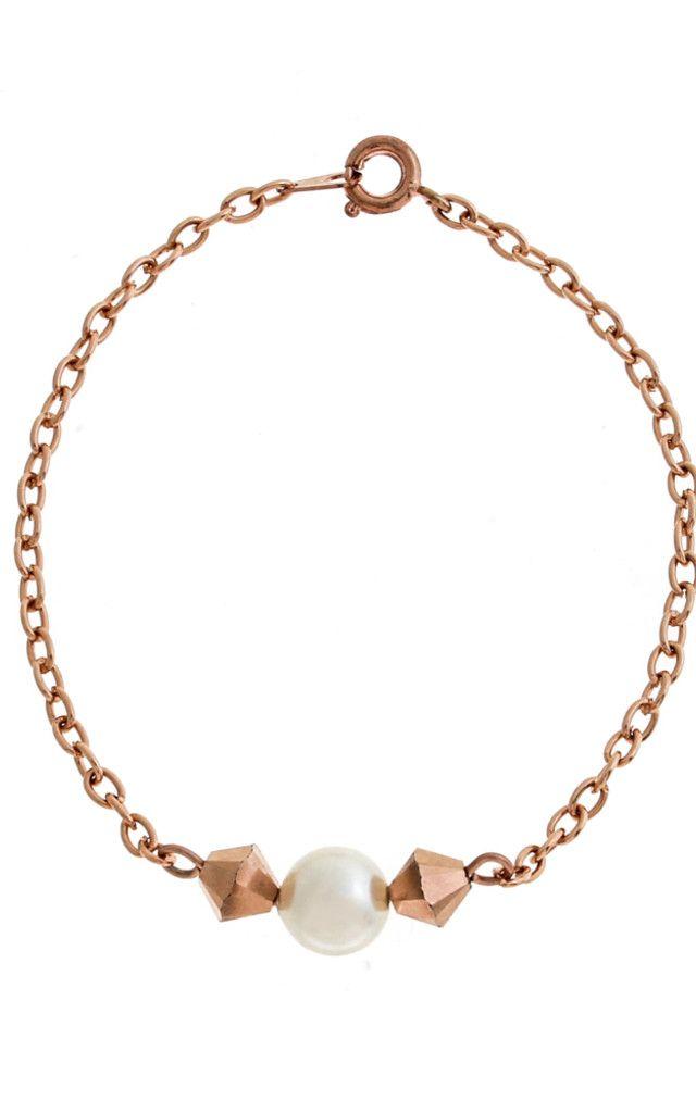 Purity Rose gold bracelet - SilkFred