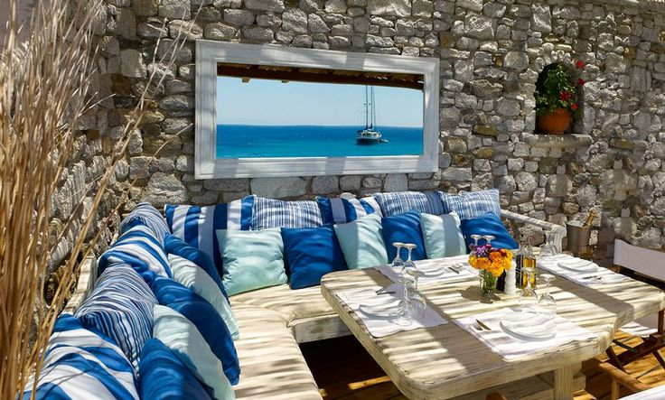 Beach Restaurant with Bay view