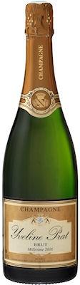 Champagne Brut Millésime 2006 de chez Prat (16,50 €, excellente affaire)
