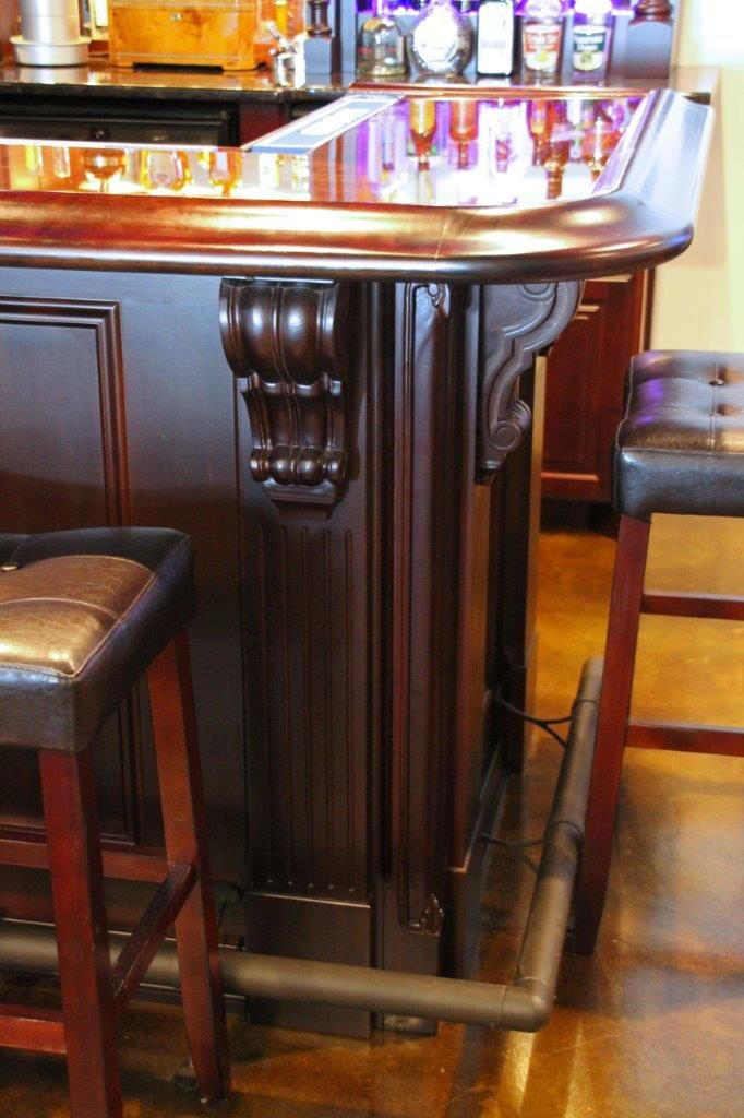 10 best images about keezer kegerator ideas on pinterest for Home bar with kegerator space
