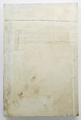 lawrence carroll - oil + wax + canvas on wood - ohne titel / untitled (2005-10)