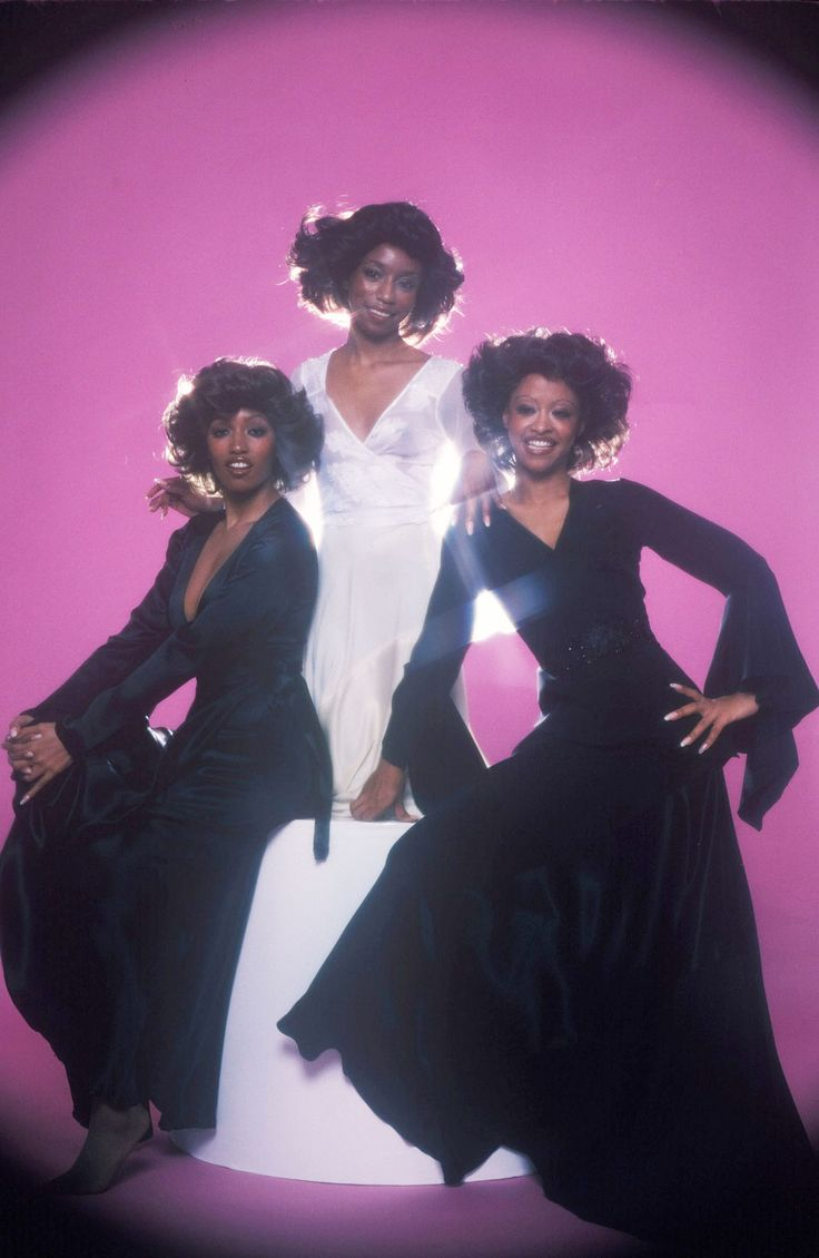The Three Degrees (l to r): Sheila Ferguson, Fayette Pinkney & Valerie Holiday