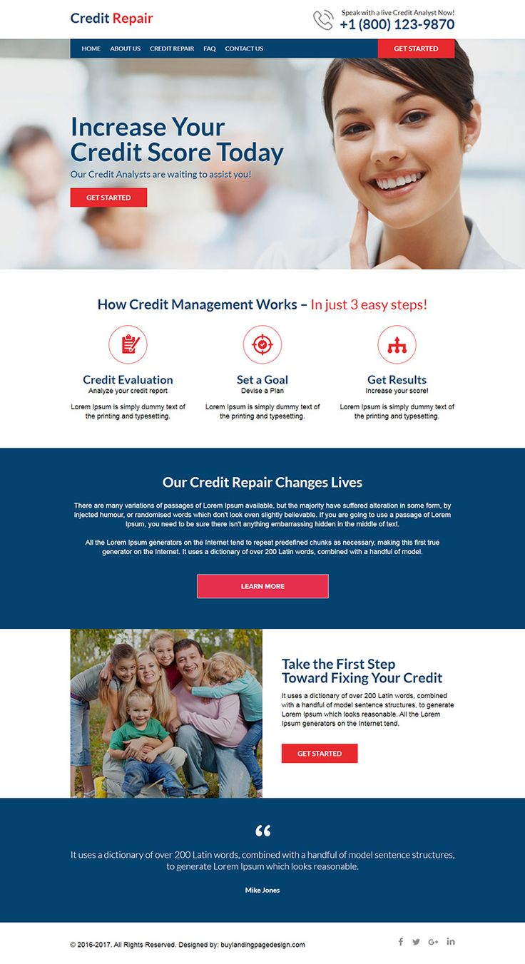 Want To Create Your Professional Credit Repair Website? in