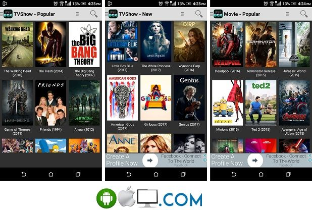 OneBox HD Apk | One Box HD app for Android, PC, Fire Stick TV