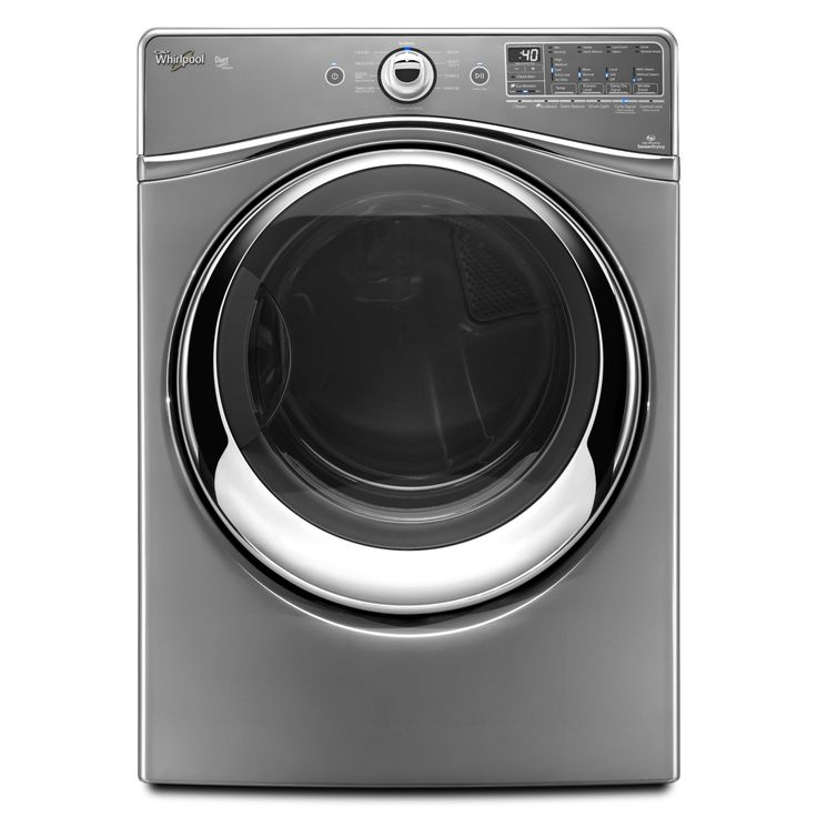 Whirlpool Duet 7.4 cu. ft. Electric Dryer w/ Advanced Moisture Sensing - Chrome Shadow