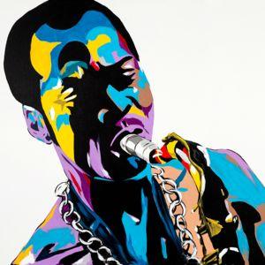 The AfroFusion Spot: Art: Artist Benny Bing, benny, benny bing, art, artist, painter, canvas, creative, nigerian, african, african art, toronto, headwrap, african queen, fela, fela kuti