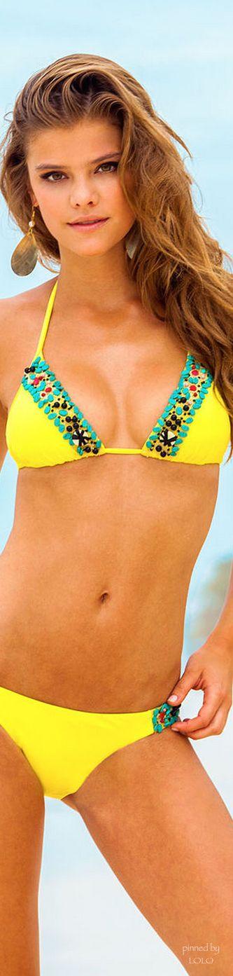 Nina Agdal for Sauvage Swimwear  | LOLO❤︎