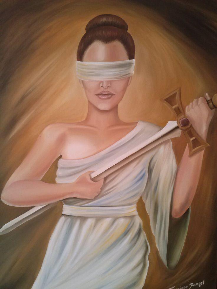 Deusa da Justiça.