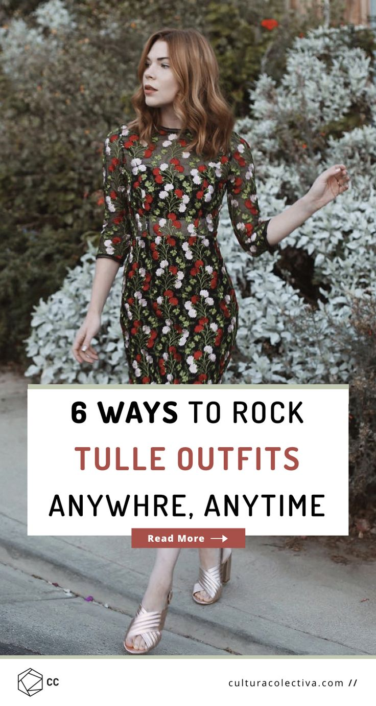 6 Ethereal Tulle Outfits To Embrace Summer  #tulle #tulleoutfits #outfitinspo #springoutfits #summeroutfits