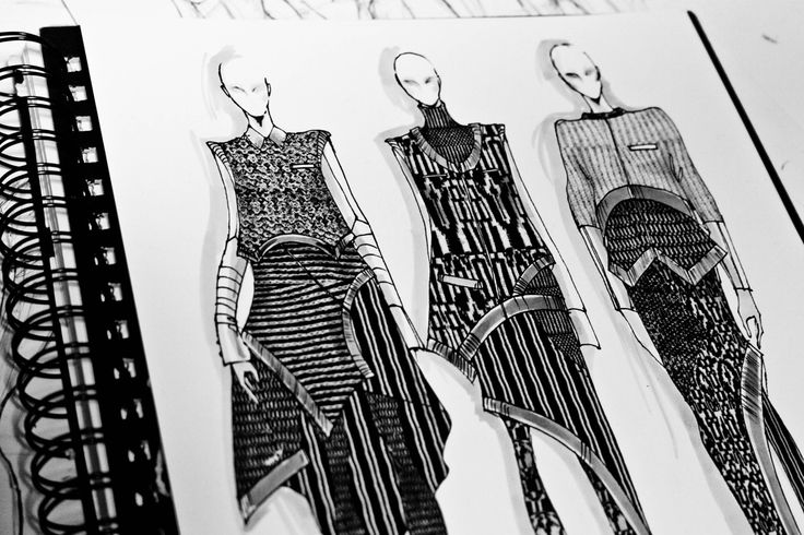 Fashion Sketchbook - fashion design drawings; fashion illustrations; fashion portfolio // Peter Do