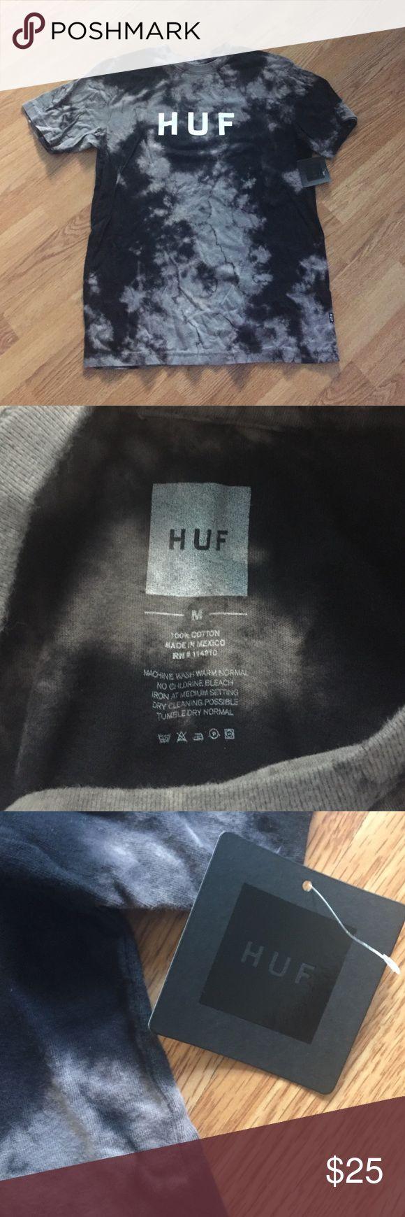 NWT HUF Bleached Washed Original Tee NWT HUF Bleached Washed Original Tee size medium HUF Shirts Tees - Short Sleeve