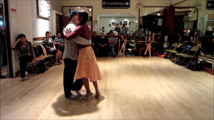 Tango Lesson: Walking Turns and Alterations