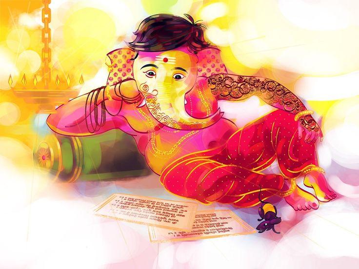 Ganesha deities ganesha anime