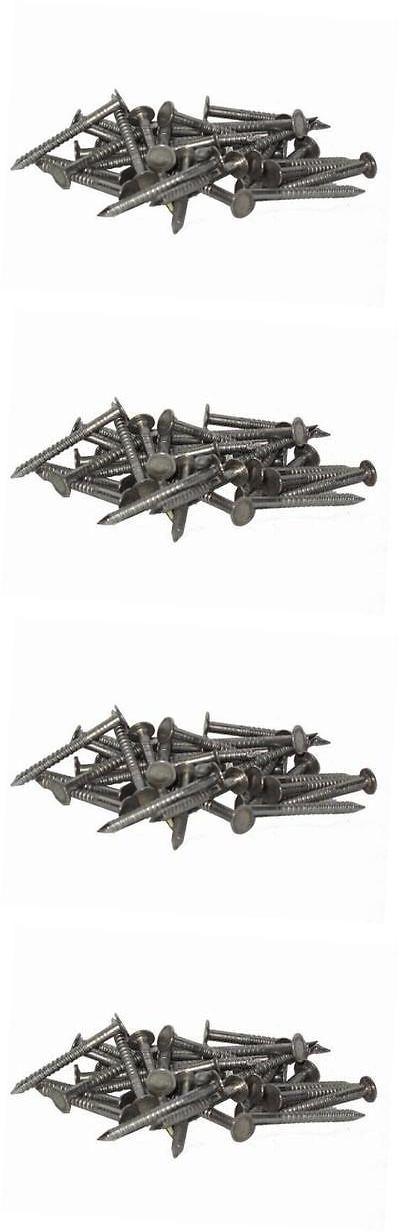 Roofing Guns 42243: S410arn25z 1-1 2-Inch Bulk Stainless Steel Annular Ring Shank Roof Nail 6Lb Box -> BUY IT NOW ONLY: $111.99 on eBay!