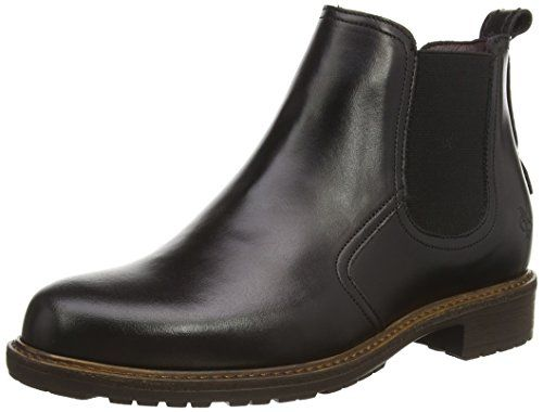 Marc O'Polo Chelsea Boot, Damen Chelsea Boots, Schwarz (990 black), 41 EU - http://uhr.haus/marc-opolo/marc-opolo-chelsea-boot-damen-chelsea-boots-990-41